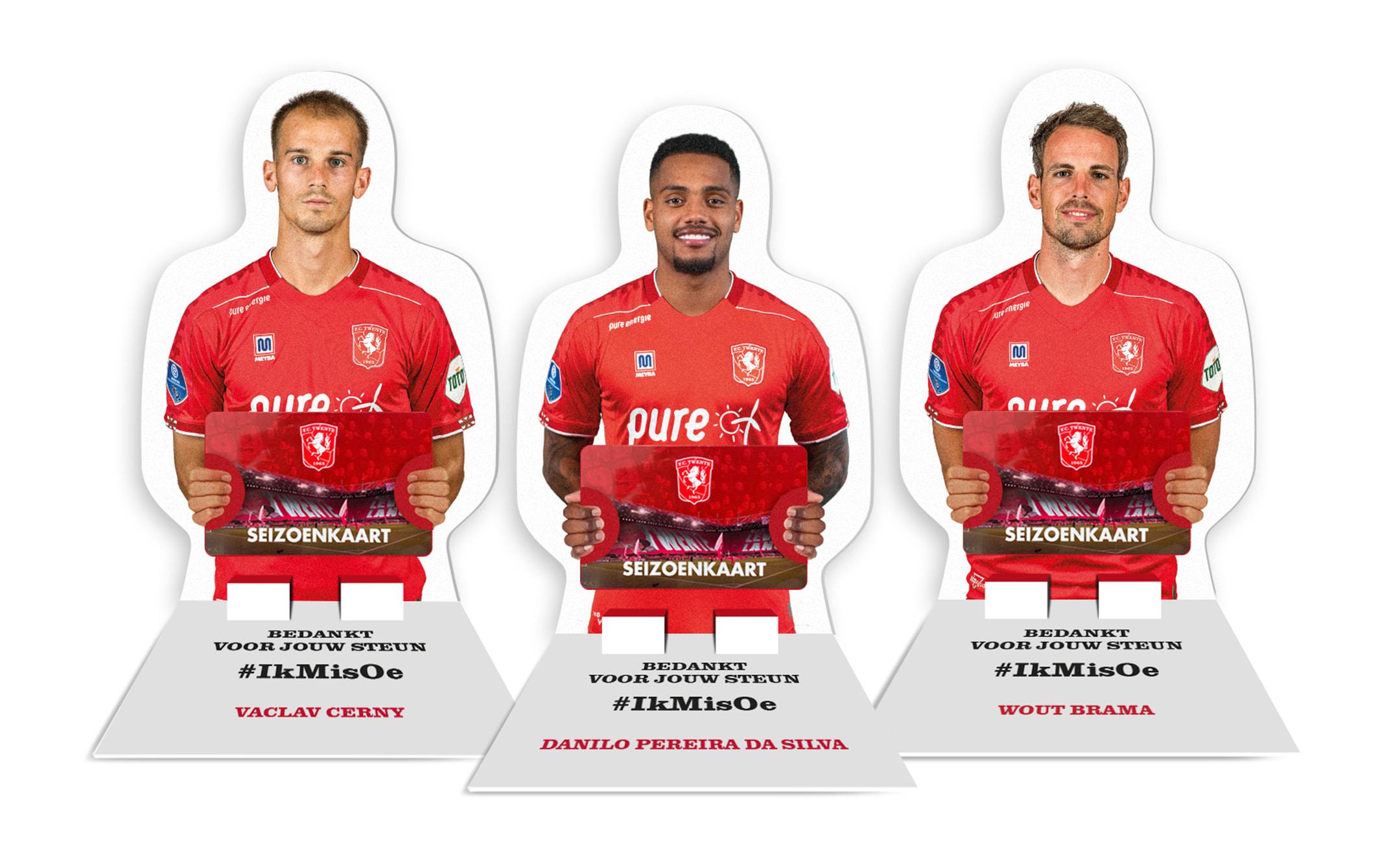 Creatieve toevoeging seizoenkaart FC Twente